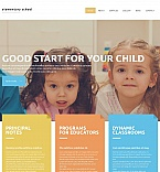 Education Moto CMS HTML  Template 54679