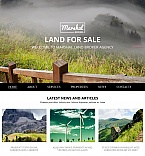 Real Estate Moto CMS HTML  Template 54682
