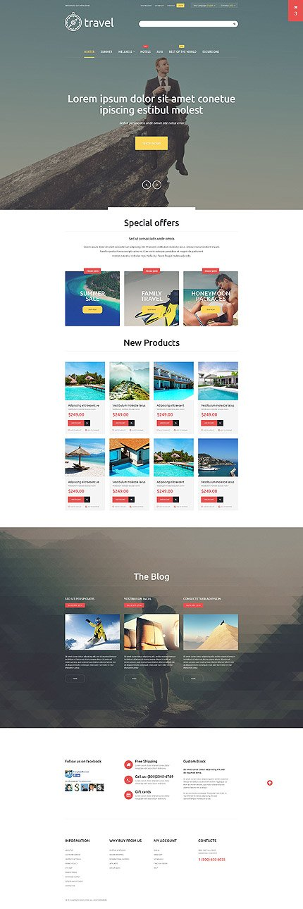 Magento Theme/Template 54689 Main Page Screenshot