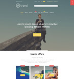 Travel Magento Template 54689