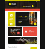 Food & Drink Shopify Template 54690