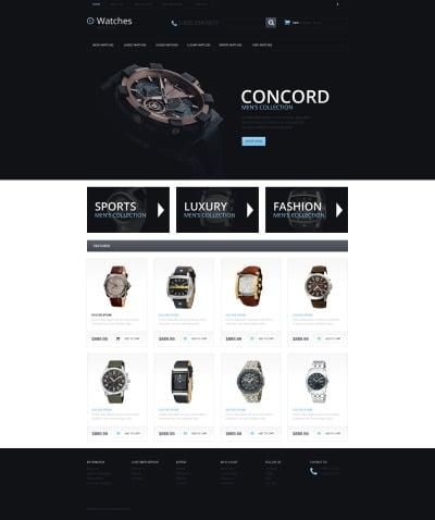 Klockor Responsivt OpenCart-mall