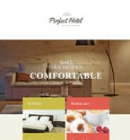 Hotels Newsletter  Template 54694