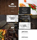 Cafe & Restaurant Landing Page  Template 54696