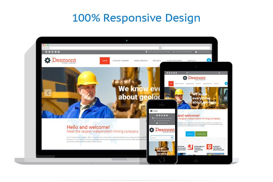 Modèles HTML5 Industriel #54698