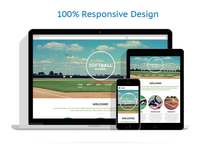 Modèles HTML5 Sport #54699