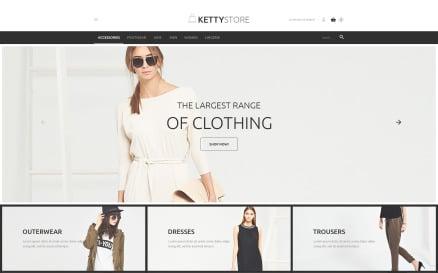 Apparel Online Store VirtueMart Template