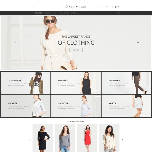 Kettystore - VirtueMart Template based on Bootstrap