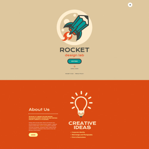 Rocket Design Lab - MotoCMS 3 Template based on Bootstrap