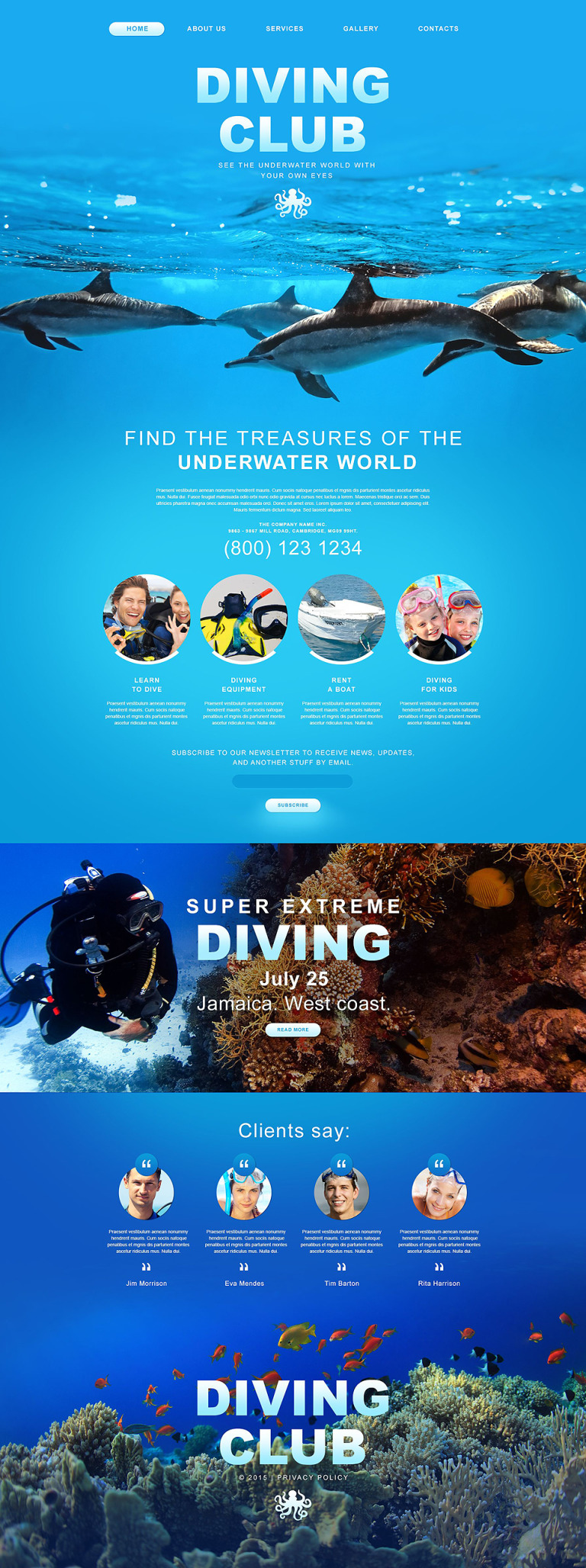 Diving Muse Template New Screenshots BIG