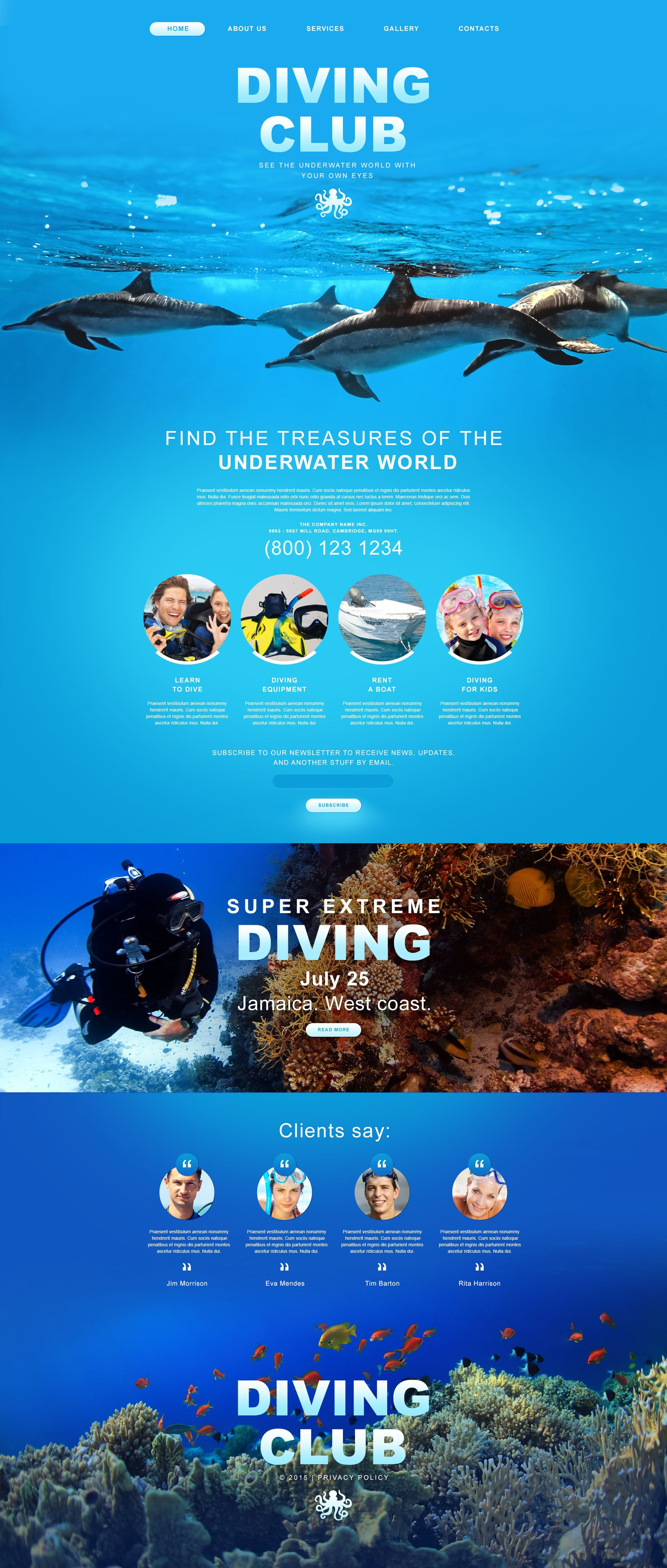 Diving Muse Template