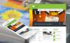 Luxusní Moto CMS HTML šablona na téma Prodejna polygrafie New Screenshots BIG