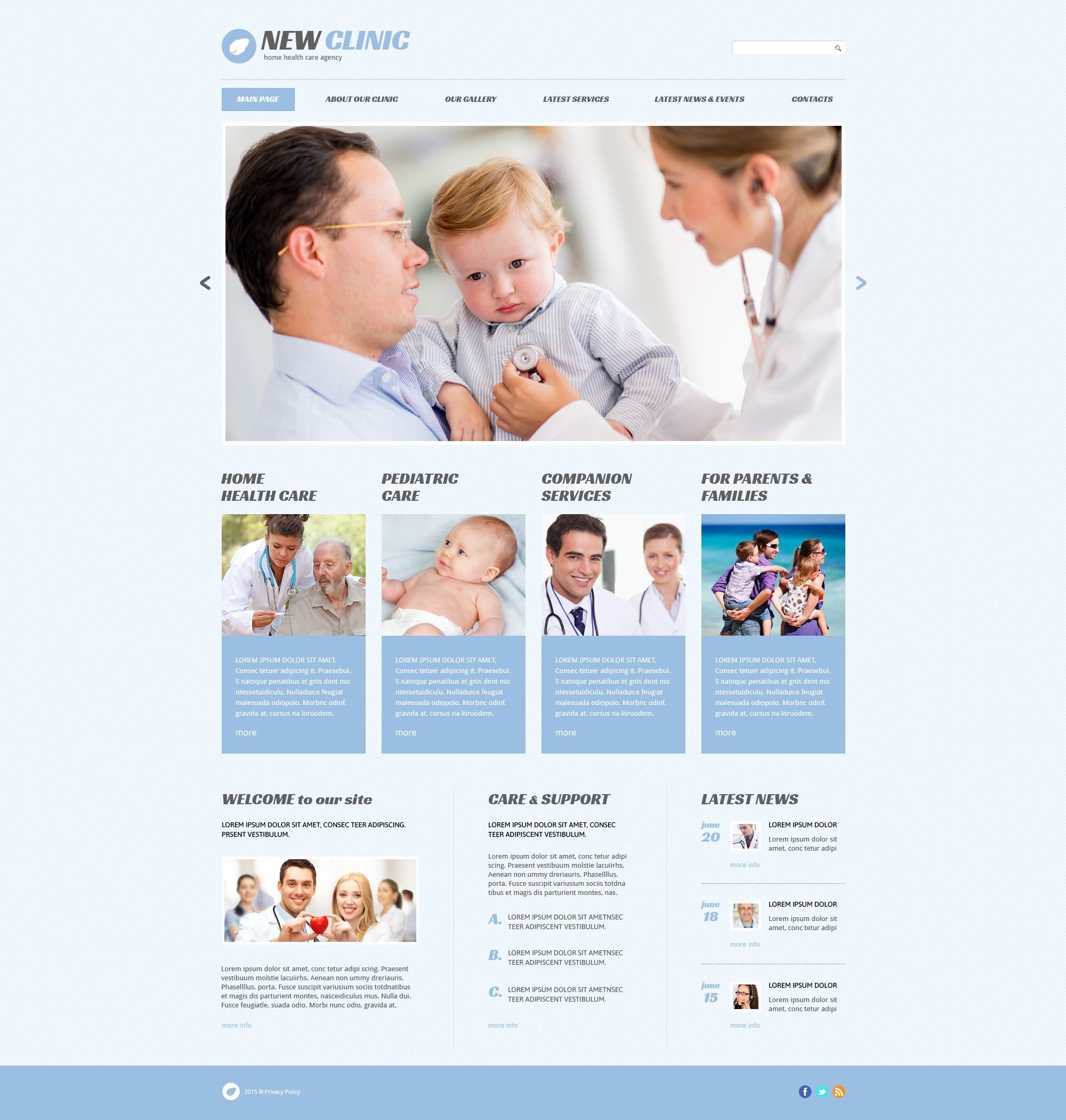 Medical Responsive WordPress Theme - screenshot