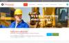 "Modello Siti Web Responsive #54698 ""Mining Company"" New Screenshots BIG"