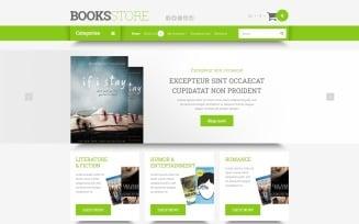 Online Literature Orders OpenCart Template