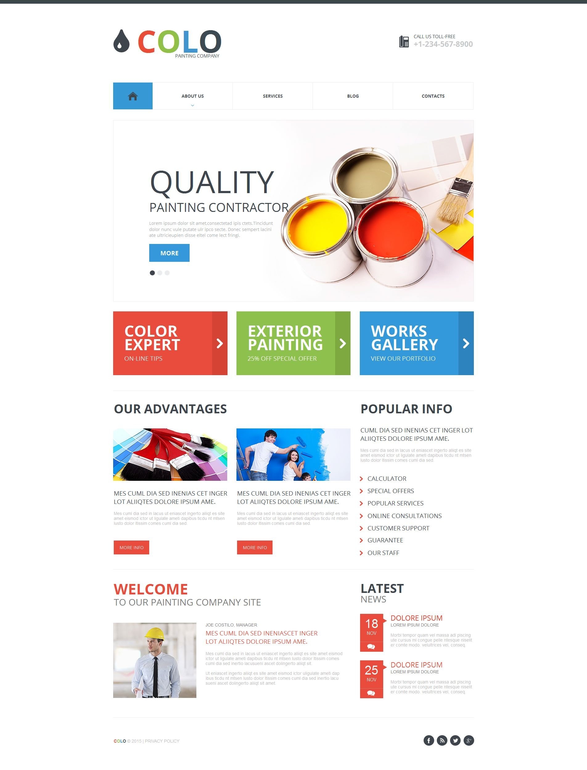 Perfect Html Template For Blog Embellishment - Professional Resume ...