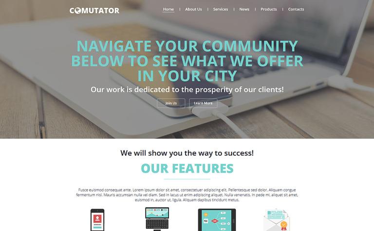 Powerful Communications Joomla Template