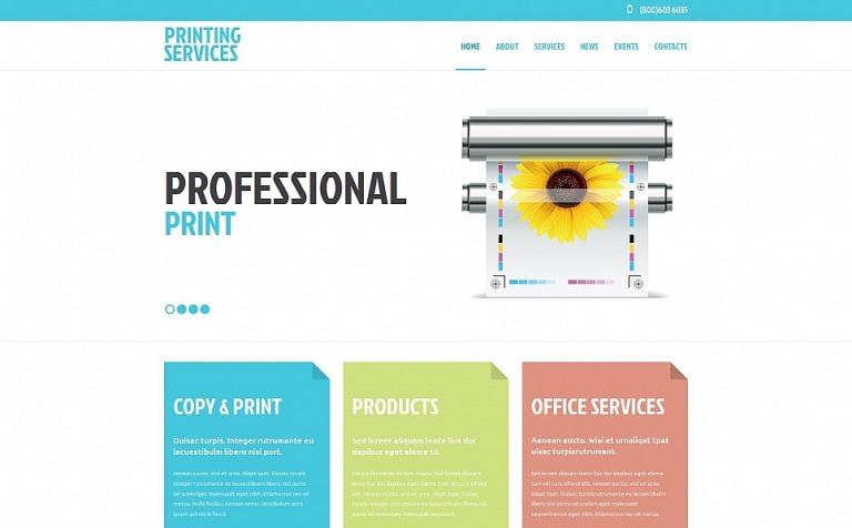 Print shop moto cms html template 54664 print shop moto cms html template new screenshots big maxwellsz