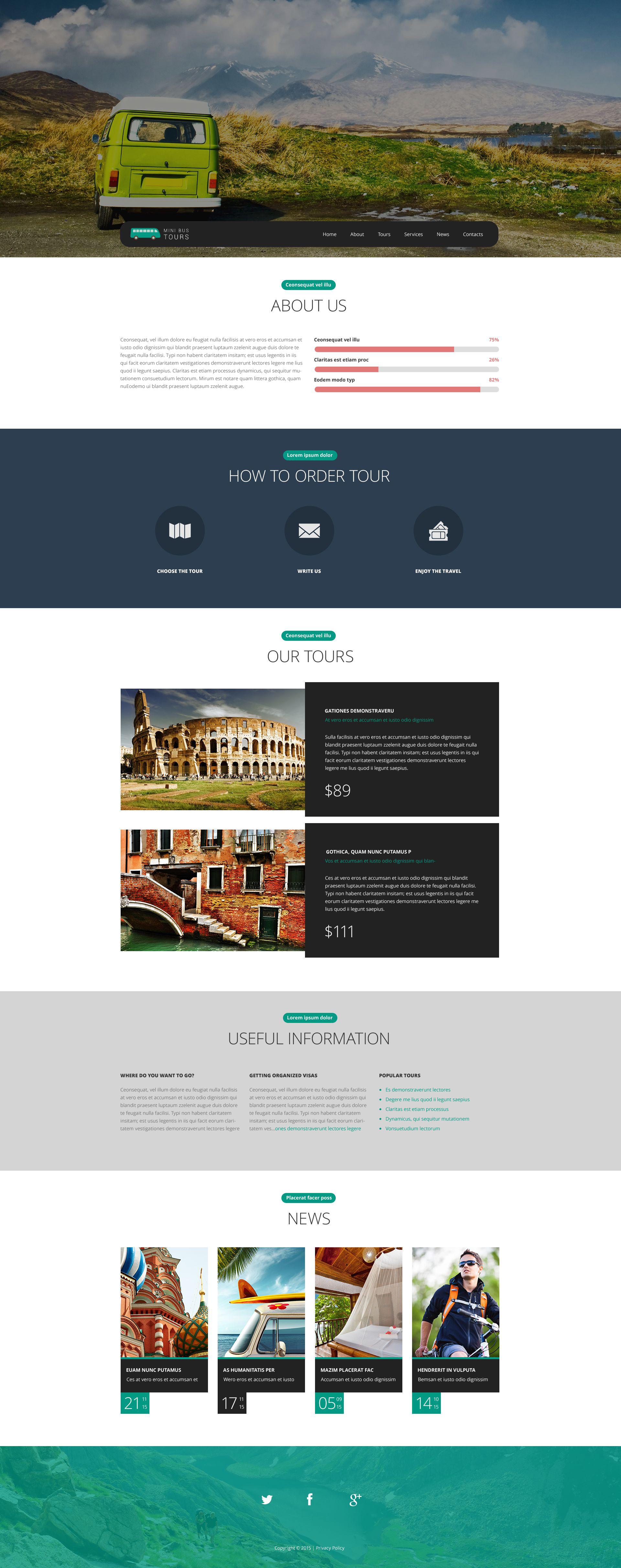 Pro Travel Website Template Web №54655