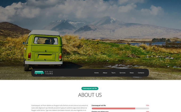 Pro Travel Website Website Template