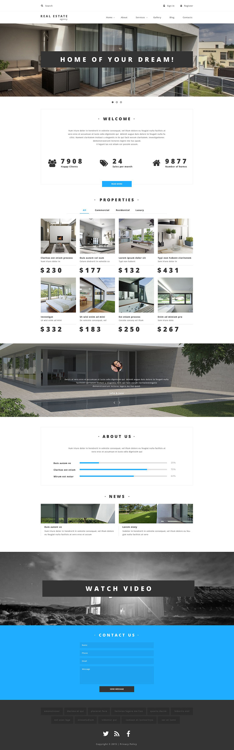 Property Provider Drupal Template New Screenshots BIG
