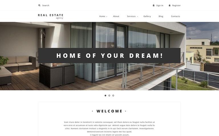Property Provider Drupal Template