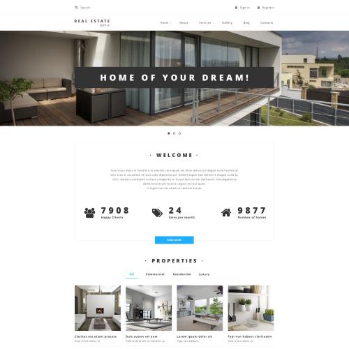 Property Provider - Responsive Drupal Template
