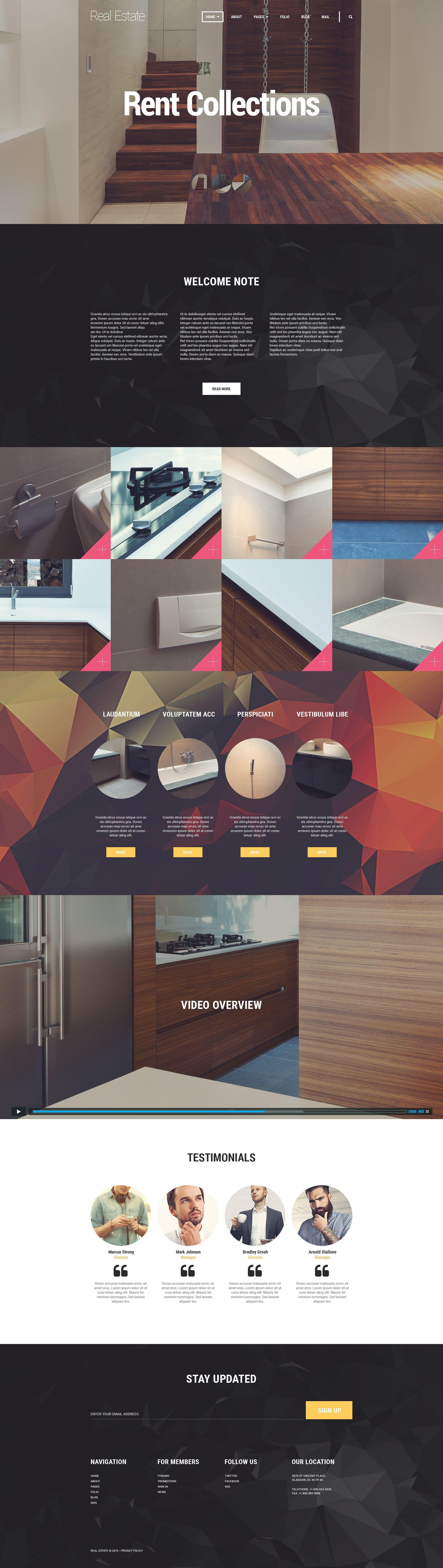 Property Selector Joomla Template - screenshot