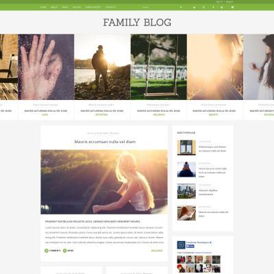 Joomla Vorlagen zum Thema Familie