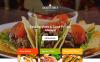 Responsive Kafe ve Restoran  Açılış Sayfası Şablonu New Screenshots BIG