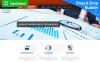 Responzivní Moto CMS 3 šablona na téma Poradenství New Screenshots BIG