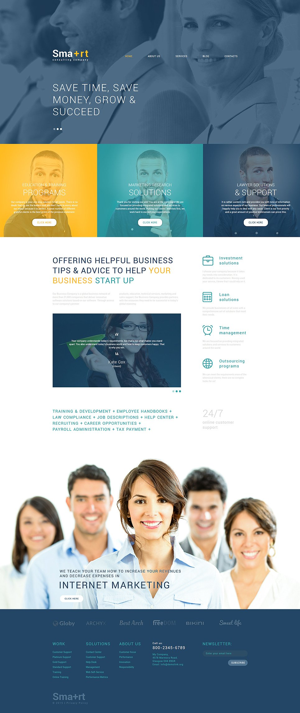 Business drupal theme for Drupal 404 template