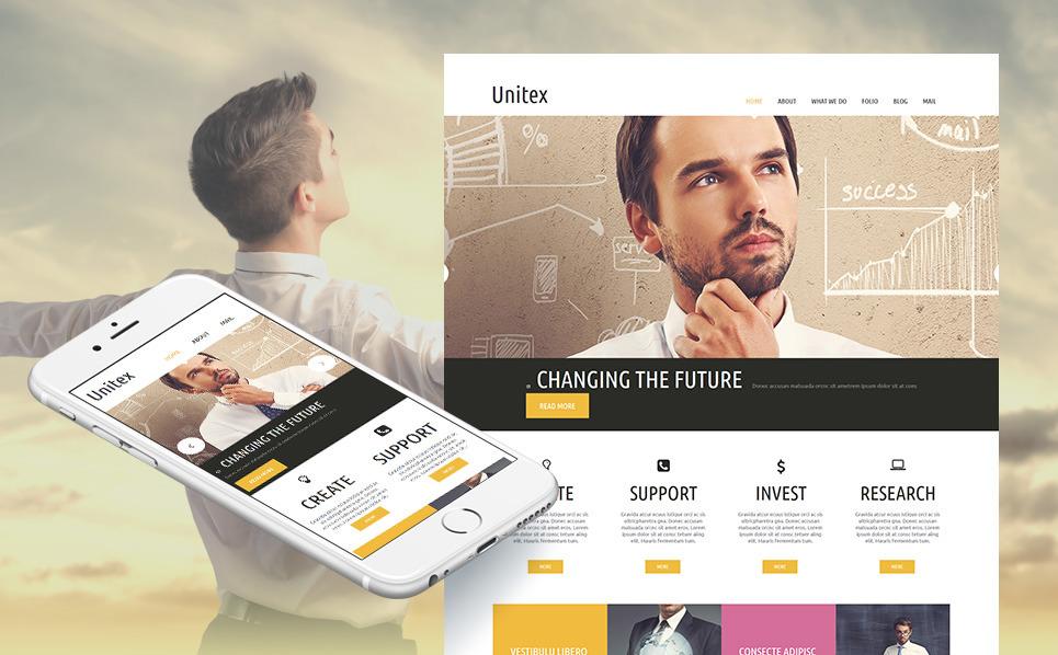 Szablon Moto CMS HTML #54678 na temat: biznes i usługi New Screenshots BIG