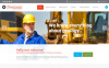 "Website Vorlage namens ""Bergbauunternehmen"" New Screenshots BIG"