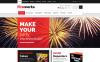 "ZenCart Vorlage namens ""Fireworks Shop"" New Screenshots BIG"
