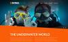 Responsivt Hemsidemall för dykning New Screenshots BIG