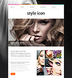 Beauty Website  Template 54703