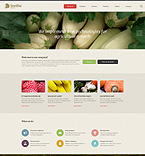 Agriculture Website  Template 54705