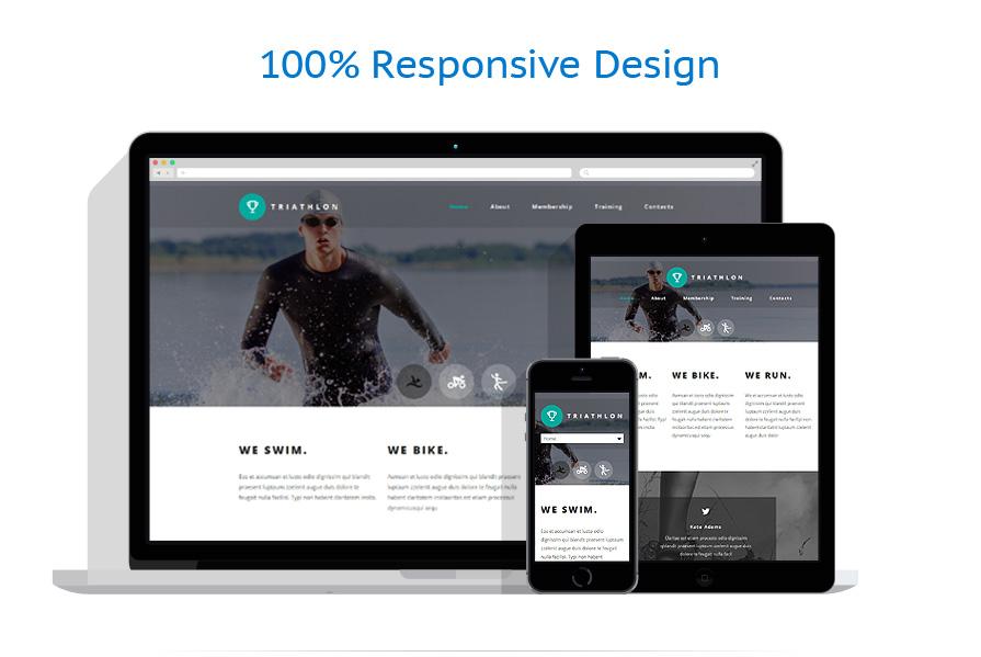 Modèles HTML5 Sport #54706