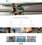 Sport Website  Template 54707