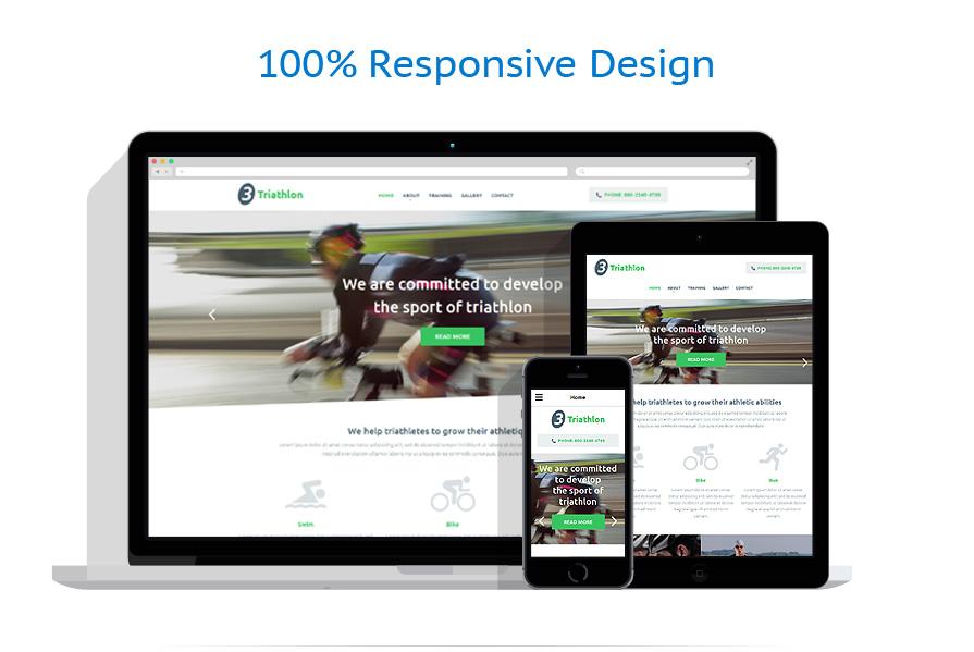 Modèles HTML5 Sport #54707
