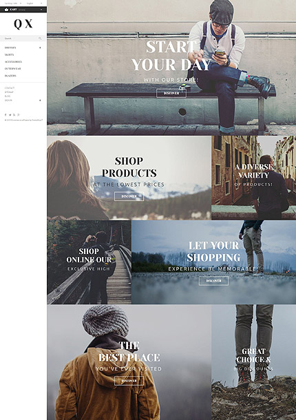 ADOBE Photoshop Template 54708 Home Page Screenshot