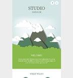 Web design Newsletter  Template 54711