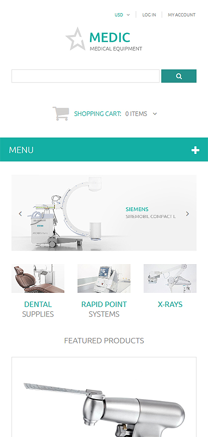 ZenCart Template 54715 Main Page Screenshot