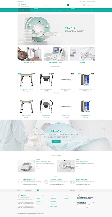Website Template #54719