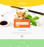 Cafe & Restaurant Landing Page  Template 54722