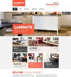 Furniture Website  Template 54725