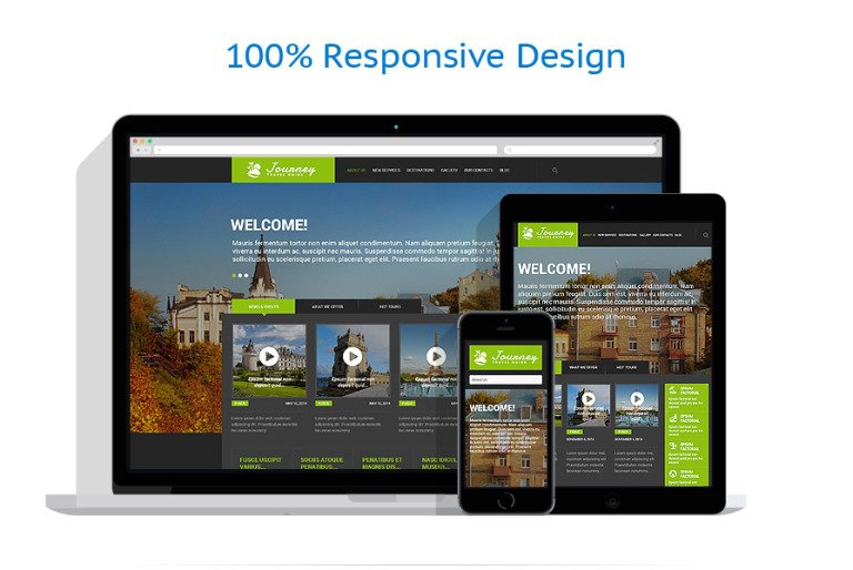 Journey Is A Vibrant Travel WordPress Theme To Use For Building Blog Or Agency Website Thanks The Vast Array Of Functionality Allows
