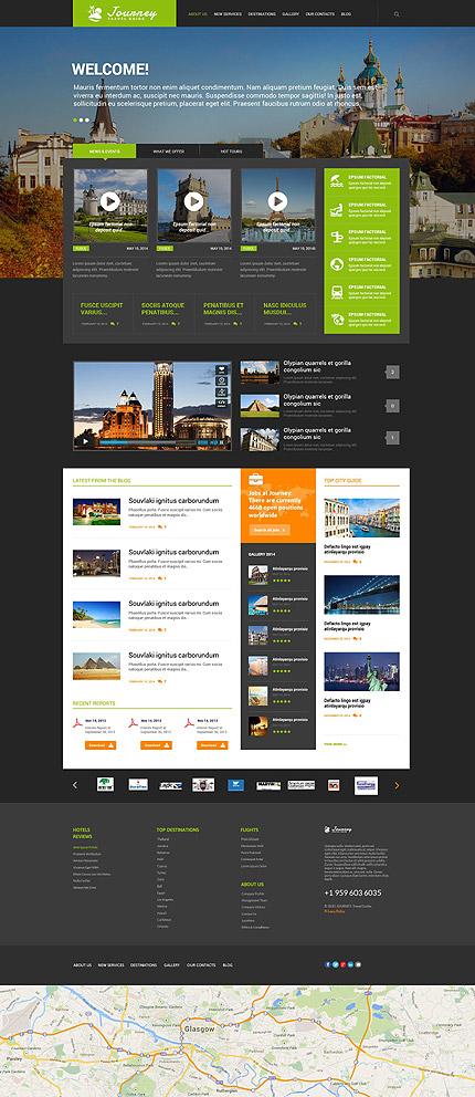 WordPress Theme/Template 54730 Main Page Screenshot