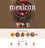 Cafe & Restaurant WordPress Template 54733